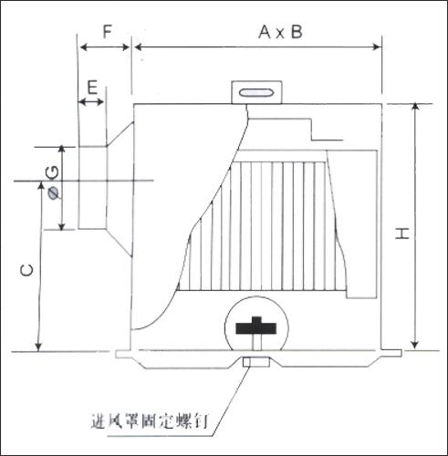 通风装置结构图